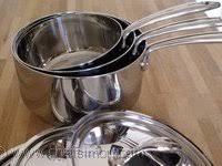 le matériel de cuisson cuiseur vapeur rondeau wok sautoir