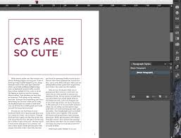 Correct Way To Set A Table by Making A Table Of Contents With Indesign U2013 Annenberg Digital Lounge