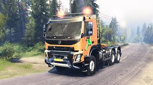 volvo truck 500 volvo fmx 500 6x6 for spin tires