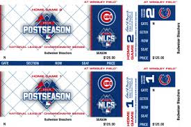 cubs nlcs tickets on sale friday for email lottery winners