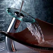 waterfall faucet tall for modern bathroom bowl faucet