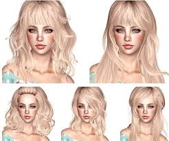 hair color to download for sims 3 newsea hair dump part 2 by magically delicious for sims 3 sims