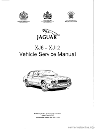 jaguar xj6 1994 2 g workshop manual