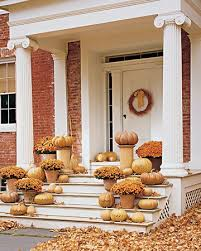 15 thanksgiving front porch decorating ideas shelterness