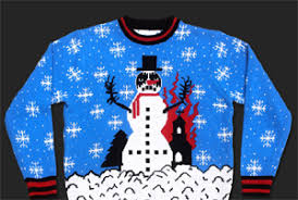 new meaning to sweaters shredders satanic knit apparel