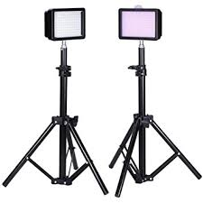 led studio lighting kit bestlight photography 160 led studio lighting kit amazon co uk