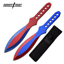 kitchen knives with sheaths throwing knife set point 8 5 blue 2 with