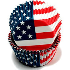 bilipala american flag cupcake toppers picks for