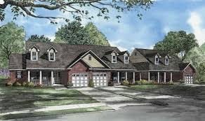 triplex plans triplex with columns and dormers 59595nd architectural designs