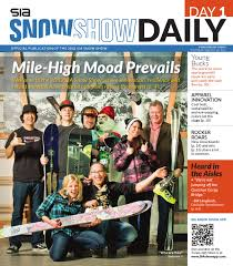 2012 sia snow show daily day 1 by snowsports industries america