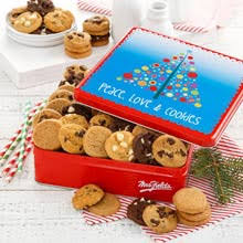 christmas cookie gift baskets by the gift basket pros