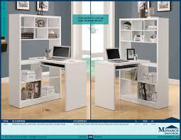 i 7022 white hollow core right or left facing corner desk