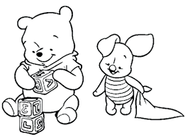 pooh free coloring pages kids printable winnie christmas