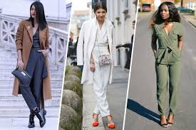 how to wear a jumpsuit 14 ways to wear a jumpsuit this