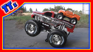 bigfoot monster truck museum monster truck toy monster trucks for kids youtube