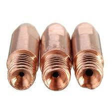 aliexpress buy new arrival 10pcs silver gold new arrival 10pcs mb 24kd mig mag m6 welding torch contact tips