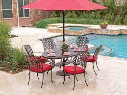 oval aluminum patio table tivoli cast aluminum 7 pc dining set with a 66 x 44 oval dining