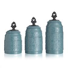 fleur de lis canisters for the kitchen atelier anila ceramic kitchen canisters