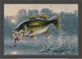 Fishing Rugs 15 Best Fishing Decor Images On Pinterest Bass Fishing Fishing