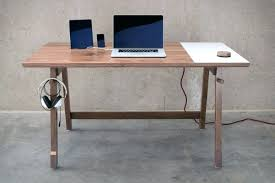 Pc Desk Ideas Desk Custom Desk With Built In Computer Build Corner Computer