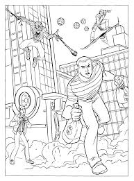 itsy bitsy spider coloring page pages the amazing man pictures to