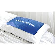 cool bed pillows amazon com cooling pillow gel mat for sleeping large size instant