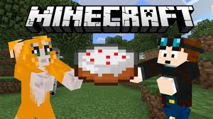 if dantdm helps stampy to make a cake youtube