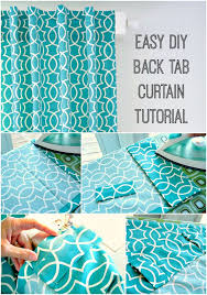 Make Curtains Out Of Sheets Best 25 Tab Curtains Ideas On Pinterest Easy Curtains How To