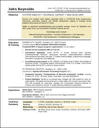 Security Objectives Resume Ideal Objective For Resume Resumes Examples Free Updated Resume