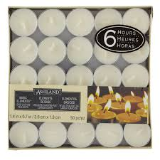 Ashland Basic Elements 6 Hour Tea Lights Multipack