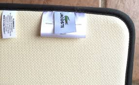 Lacoste Bathroom Accessories by Lacoste Bath Mat Cliff Creative Rugs Decoration