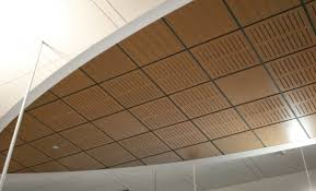 wooden suspended ceiling panel acoustic aluratone rulon