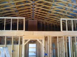 pole barn homes interior how one built his pole barn house milligan s gander hill farm