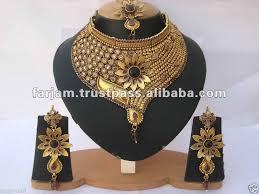 indian bridal necklace sets images Indian designer polki bridal jewelry necklace set view indian jpg