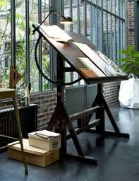 Drafting Table Pad Oh How I Love A Drafting Table Home Office Pinterest