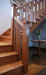 Banister Styles Arsts And Crafts Stair Mission Style Staircase Designed Stairs