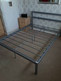 double metal bed frame in blacon cheshire gumtree