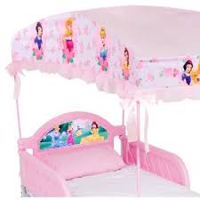 Disney Princess Toddler Bed With Canopy Princess Toddler Bed With Canopy By Delta Bb86920ps