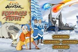 avatar airbender fortress fight game avatar