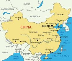 Blank China Map by Political Map Of China With The Several Provinces Where Chongqing