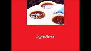 coffee creme brulee youtube