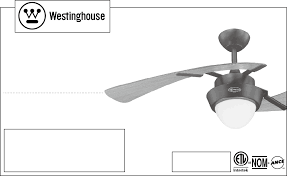 Two Bladed Ceiling Fans by Westinghouse Ceiling Fans Harmony 48 Inch Two Blade Indoor Ceiling