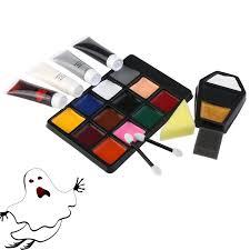 halloween makeup kits professional amazon com pbpbox halloween makeup face paint kit for zombie