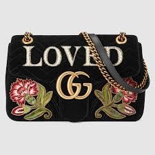 gg marmont medium velvet bag gucci women u0027s shoulder bags