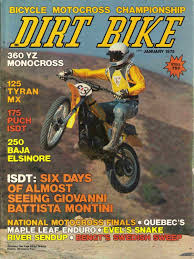 vintage motocross races dirt bike magazine 1975 yamaha yz125c montesa 250 v75 cz400mx