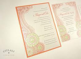 print wedding invitations henna wedding invitations 45 best paisley moroccan print wedding