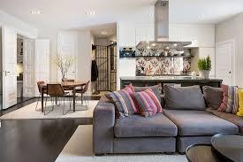 Open Plan Kitchen Living Room Design Ideas Cute Kitchen Living Room Ideas Also Interior Home Addition Ideas