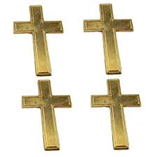 pocket crosses pocket crosses gold tone 1 3 4 size metal pack of 50
