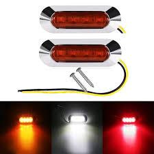 led side marker lights for trucks truck led side marker lights 12v 24v car truck trailer rear lights