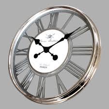 Horloge Murale Ronde Blanche Avec Grande Horloge Murale Blanche Collection Et Horloge Murale Ronde En